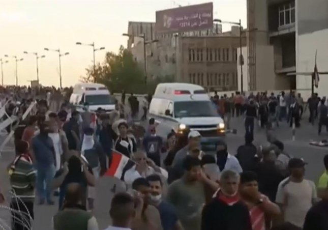 At least two protestors were killed while attempting to rush the Green Zone in Baghdad on Friday. Security forces opened fire into the crowd, also injuring at least 20 people. A curfew was implemented for Baghdad as the protest marked the second time since April 30 that protestors had attempted to enter the Green Zone,