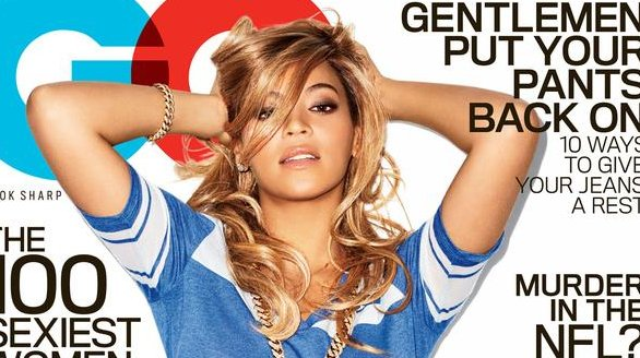 The Real Version of the Beyonce cover was released by GQ after the leak.