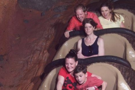 A woman's angry Splash Mountain photo got more than 2 million views after her husband shared it to his imgur account. The woman, Jordan Alexander, said she took the photo as a memento of how angry her husband Steve made her after refusing to go on the ride with her.