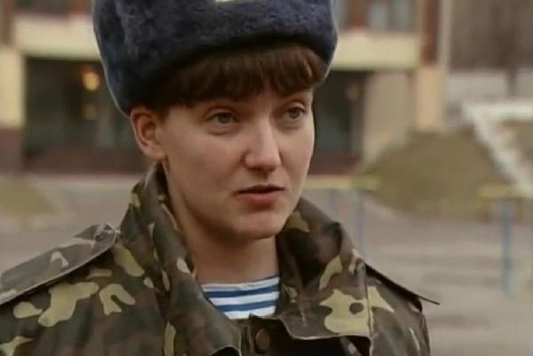 Ukrainian pilot Nadiya Savchenko was sentenced in March to a 22-year prison term for her role in killing two Russian journalists in eastern Ukraine. Photo courtesy of Podrodytsi/Wikipedia