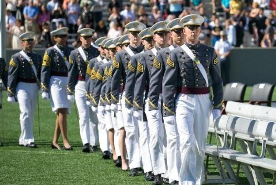About 16 of 850 cadets who have returned so far to the U.S., Military Academy at West Point, N.Y., for their June 13 graduation ceremonies have tested positive for the coronavirus, an Army spokesperson said on Monday. Photo courtesy of USMA