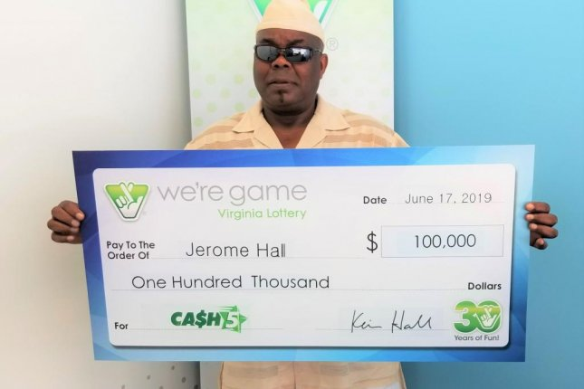 Look: Man wins second lottery prize three months after first win