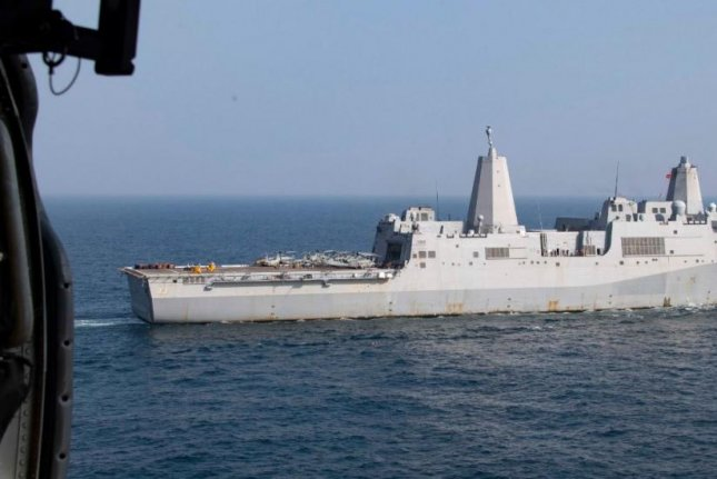 BAE Systems San Diego Ship Repair received a $41.8 million contract for upgrades and repair of the transport dock ship USS Anchorage. Photo by MCS2 William Phillips/U.S. Navy