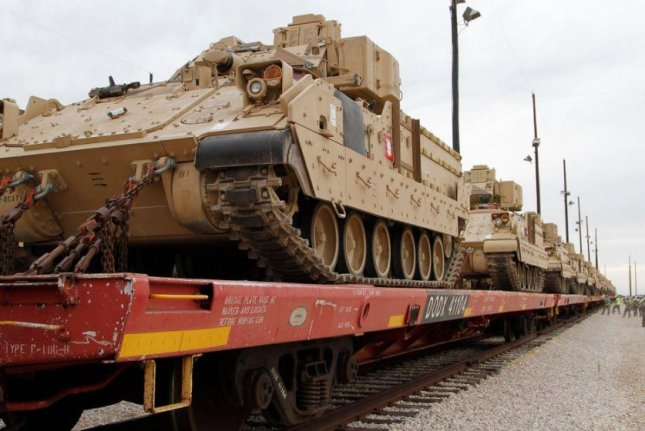 The U.S. Army announced plans this week to issue a request for proposals to develop the Optionally Manned Fighting Vehicle, which is meant to replace the aging Bradley Fighting Vehicle, pictured. Photo by SSgt. Keith Anderson/U.S. Army
