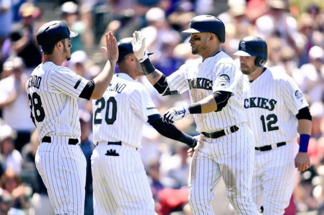 The Rockies have won nine straight series without a series loss, tying a franchise record. The Rockies beat the Cardinals, 8-4 on Sunday. Photo courtesy Colorado Rockies/Twitter