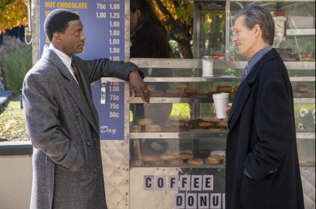 Aldis Hodge (L) plays a district attorney and Kevin Bacon an FBI agent on City on a Hill. Photo courtesy of Showtime