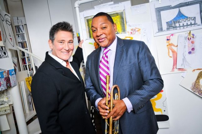 Image of Wynton Marsalis and k.d. lang courtesy of After Midnight.