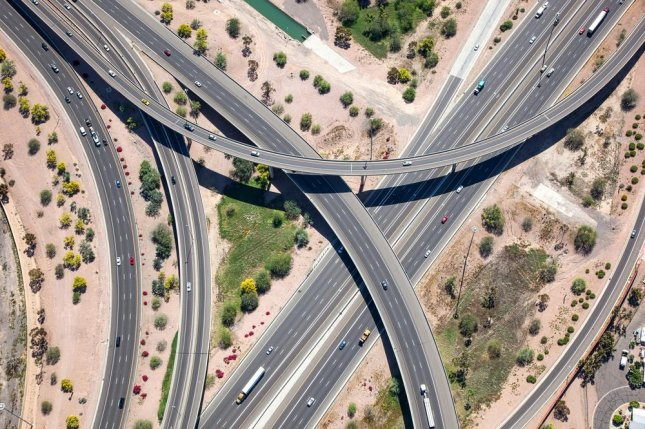 Police in Arizona have been investigating a string of shootings along an eight-mile stretch of Interstate 10, pictured. Photo by Tim Roberts Photography/Shutterstock