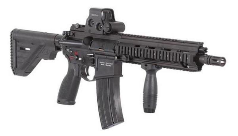 New Heckler Amp Koch Assault Rifle For French Military Upi Com