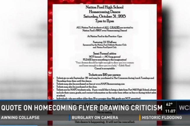 homecoming flyers