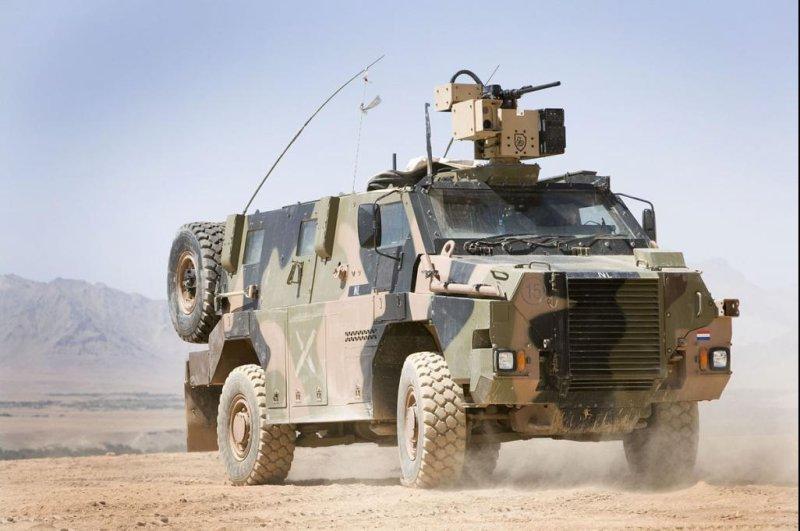 Netherlands orders Bushmaster armored vehicles