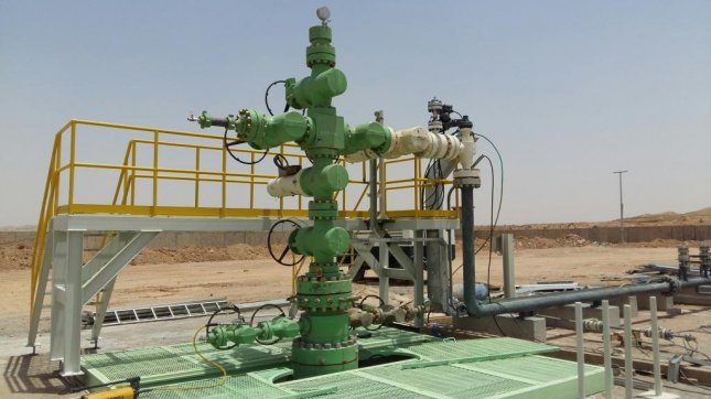 Russian oil company Gazprom Neft said nearly half of the total production from an eastern Iraqi oil field came online this year. Photo courtesy of Gazprom Neft
