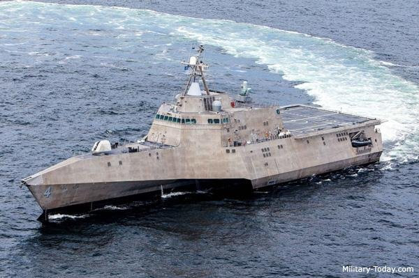 Austal has been contracted for two more Independence-class littoral combat ships, LCS 36 and LCS 38. Photo courtesy of Austal