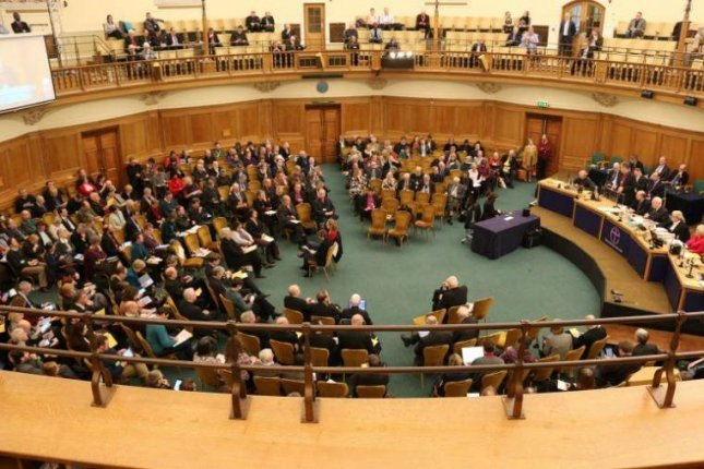 At a meeting in London, the general synod of the Church of England relaxed a 400-year-old rule ordering Sunday services in each Anglican church. Photo courtesy Church of England
