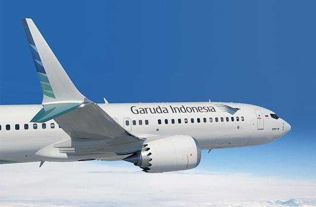 Indonesia's Garuda Airlines has received only one of the 50 373 Max 8 jets it order from Boeing. It has since grounded that plane and canceled its order for the remaining 49. Photo courtesy Boeing