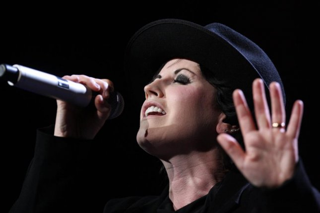 Dolores O'Riordan, lead singer of the Irish rock band The Cranberries, has died in London at the age of 46. Photo by the Cranberries/Wikimedia Commons