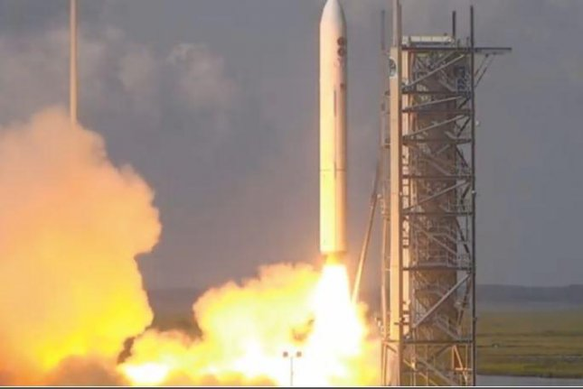 NASA successfully put four satellites for the National Reconnaissance Office into low earth orbit on Wednesday, using a Minotaur IV rocket. Photo courtesy of NASA