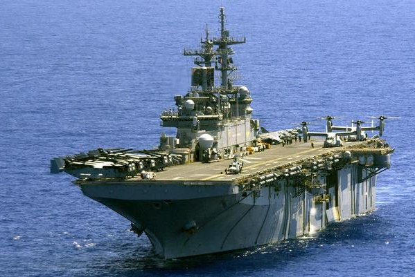 BAE Systems has received a $197.4 million contract to work on the USS Wasp. Photo courtesy of BAE