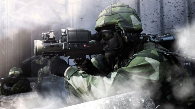 Saab announced Tuesday that Slovakia is the first to receive it's new lighter-weight Carl-Gustaf M4 multi-role recoilless weapon. Photo courtesy of Saab