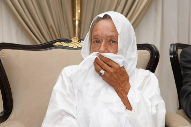 Sophie Petronin, 75, was kidnapped by jihadists in Mail on Christmas Eve, 2016. Photo courtesy ofThe Malian presidential office/Facebook