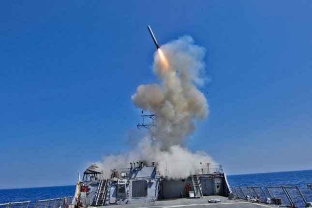 Pentagon and Senate Armed Services Committee members members objected on Thursday to a proposal to defund sea-based cruise missiles. Photo by MCS3 Jonathan Sundermann/U.S. Navy