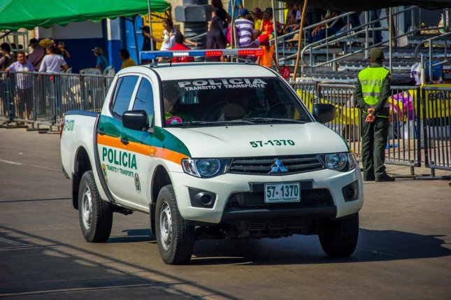 Colombia's National Police announced that 15 people have been arrested with potential links to the two small intimidatory bombings recently carried out in Bogota that injured eight people. File Photo by Fotos593/Shutterstock
