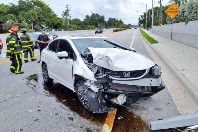 Florida Car Accident: Look: Driver Lost Control Of Car When Spider Landed On Her