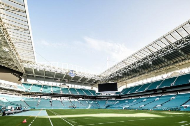 The Miami Dolphins host the Tampa Bay Buccaneers at 1 p.m. Sunday in a Week 1 contest at Hard Rock Stadium in Miami Gardens, Fla. Photo courtesy of the Miami Dolphins.