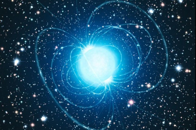 New research suggests magnetars are produced by the deaths of massive stars that were formed by stellar mergers. Photo ESO/L. Calçada