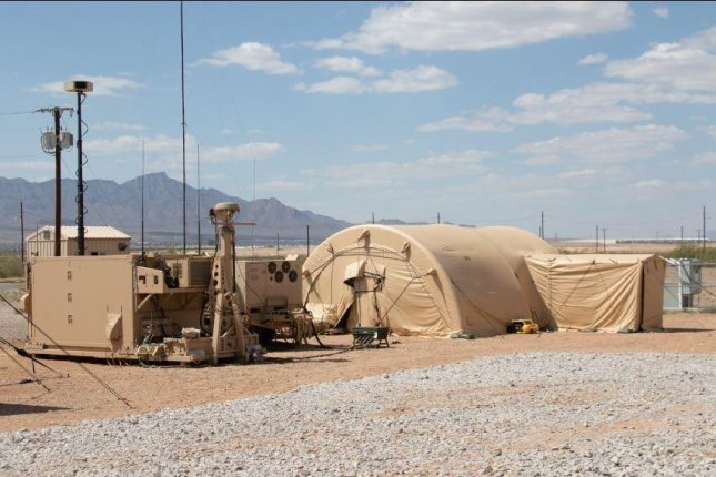 The Army conducted a successful intercept test with the Integrated Air and Missile Defense Battle Command System, or IBCS, Dec. 12, 2019, at White Sands Missile Range, N.M. Soldiers from 3rd Battalion, 43rd Air Defense Artillery Regiment, and 3rd Bn., 6th Air Defense Artillery Air Missile Defense Test Detachment are currently involved in a new limited user test for the IBCS that started in early July. Photo courtesy of U.S. Army