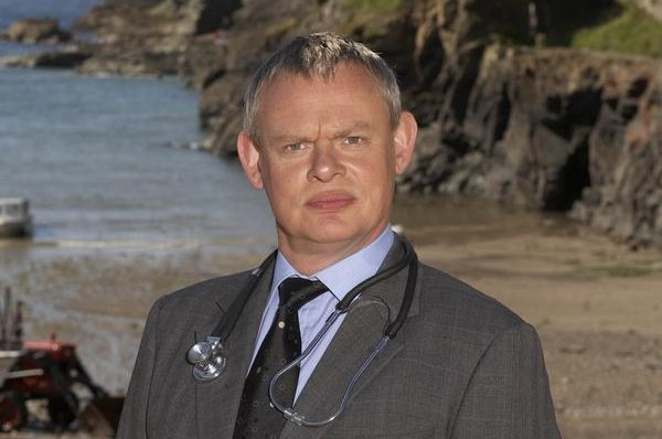 Martin Clunes in Doc Martin. Photo courtesy ITV
