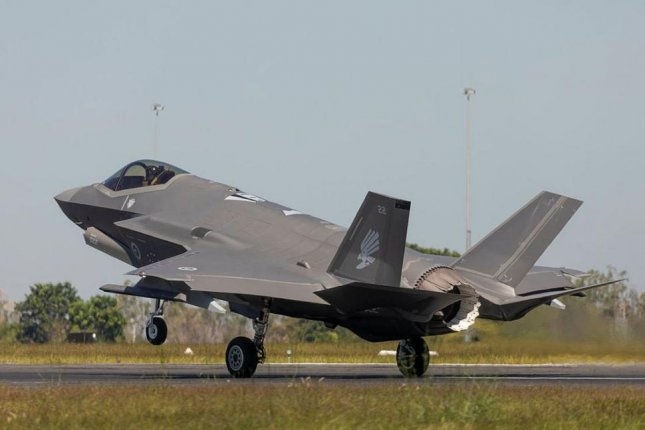 F-35 aircraft of the Australian Defense Force are expected to play a major role in Exercise Talisman 2021, a multi-national drill involving about 17,000 personnel, in July. Photo courtesy of Australian Department of Defense