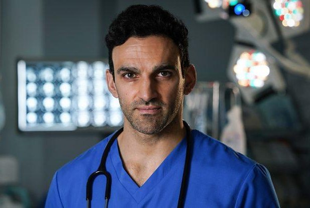 Davood Ghadami is set to play a surgeon on Holby City. Photo courtesy of BBC