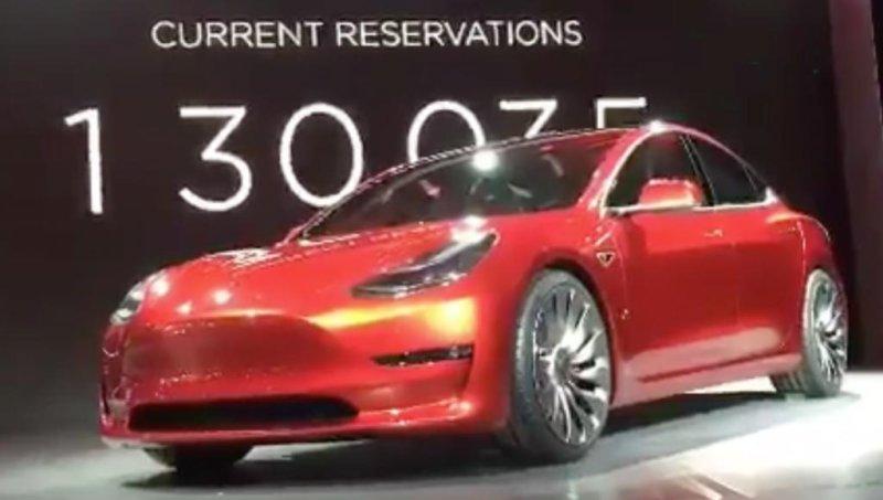Tesla Motors Reveals Model Electric Car Upi Com
