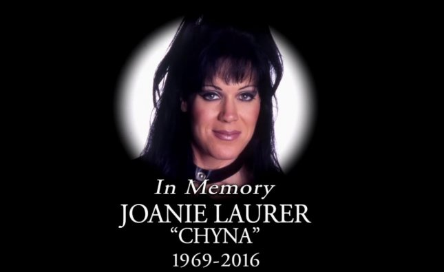WWE paid tribute to The Ninth Wonder of the World Chyna on Raw following her death on Wednesday. The heartfelt video featured key moments from Chyna's career. Photo courtesy of WWE/Youtube