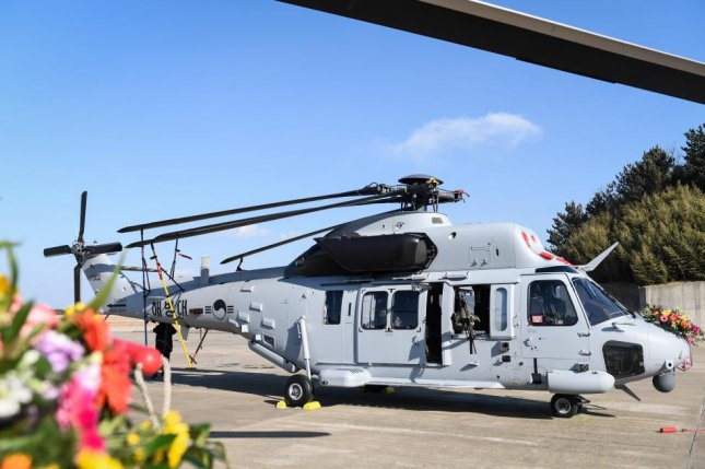 Korea Aerospace Industries, or KAI, developed the MUH-1 or Marineon helicopters, to be deployed with South Korea's marine corps. Photo courtesy of Republic of Korea Marine Corps/Yonhap