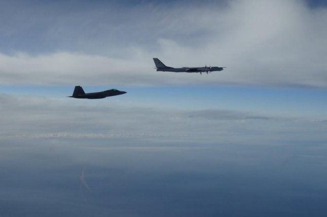 Russian bombers intercepted near Alaska by F-22 fighters, says US military