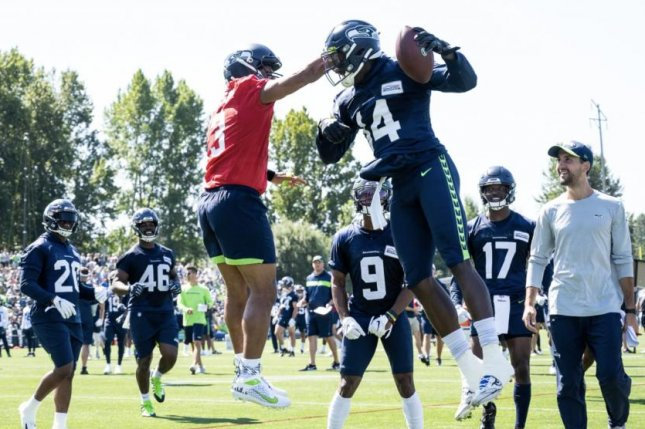 The Seattle Seahawks selected wide receiver DK Metcalf (17) in the second round of the 2019 NFL Draft. Photo courtesy of the Seattle Seahawks/Rod Mar
