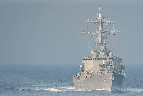 The Arleigh Burke-class destroyer USS Donald Cook entered the Black Sea on Monday for routine maritime security operations. Photo courtesy of U.S. Navy 6th Fleet