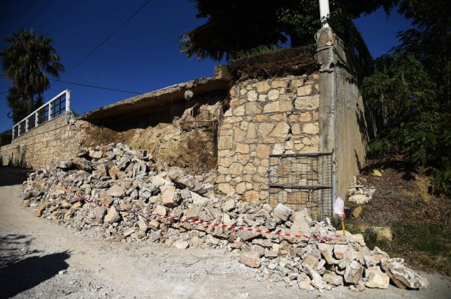Strong quake hits Greek island, no major damage reported