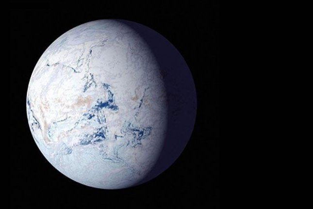 Earth's oceans froze over during what's called Snowball Earth some 700 million years ago. Photo by NASA