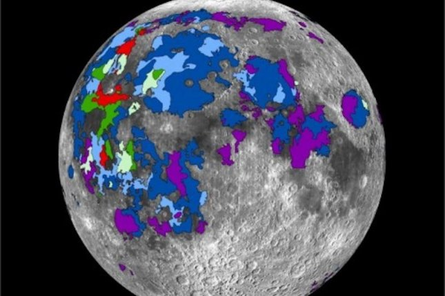 Volcanic activity gave the early Moon an atmosphere