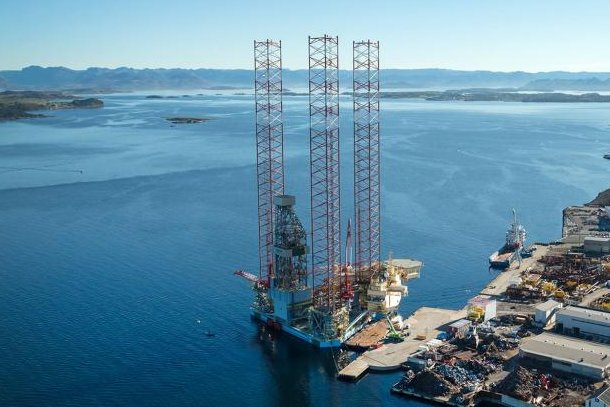 Aker BP given consent to use the Maersk Interceptor rig, on which a fatal accident occurred in December. Photo courtesy of A.P. Moller-Maersk