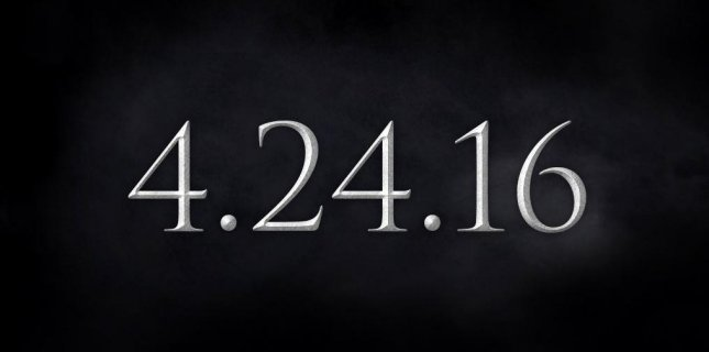 HBO has announced that the upcoming sixth season Game of Thrones will premiere on Apr. 24. Photo courtesy of HBO/Twitter