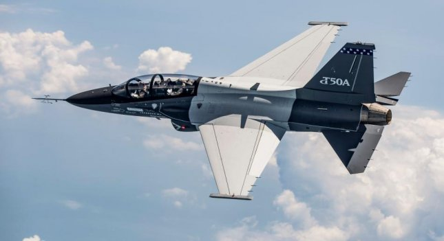 Lockheed Martin and Korea Aerospace Industries successfully completed the initial test flight of the second T-50A trainer aircraft, Lockheed announced Tuesday. Photo courtesy Lockheed Martin