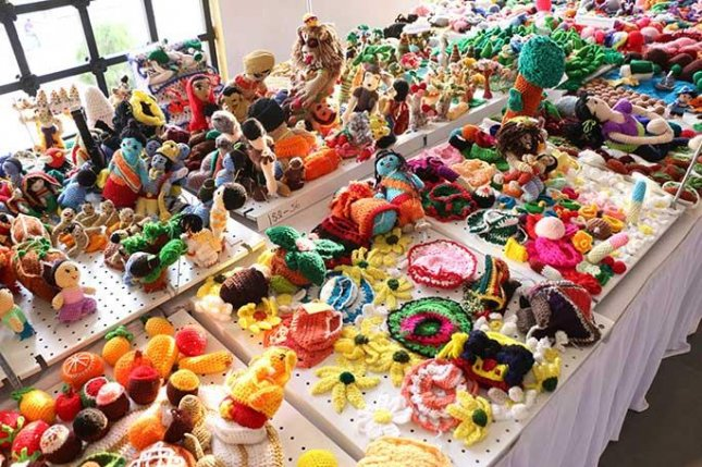 India-based group sets record for largest display of crochet