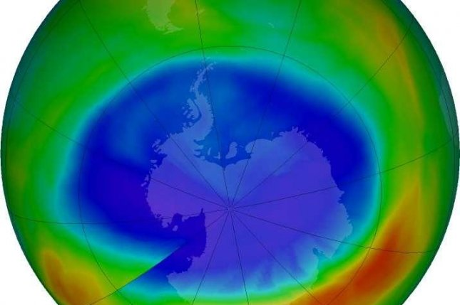 The ban on the production and use of chlorofluorocarbons has led to a slow but steady recovery of the Earth's ozone layer, but new data suggests a new source somewhere in Asia is releasing CFC-11 into the atmosphere, undermining the progress made since the Montreal Protocol. Photo by NASA/NASA Ozone Watch/Katy Mersmann