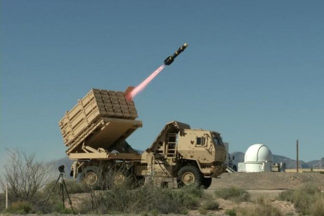 The U.S. Army's MML launcher system which is being used for a new air defense system. U.S. Army photo