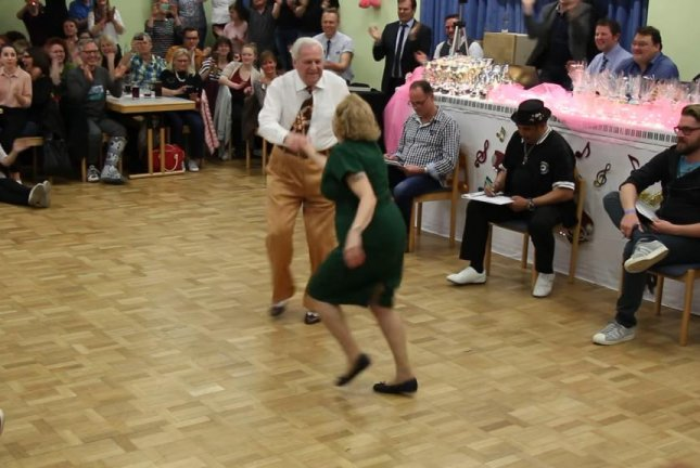 Elderly German couple dance their way to viral fame