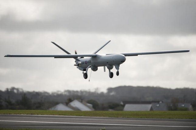 Thales has been awarded a $106 million U.K. Ministry of Defence contract for Watchkeeper drone training, maintenance and support operations, the company announced. U.K. Ministry of Defense photo by Andrew Linnett